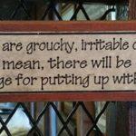 sign-grouchy